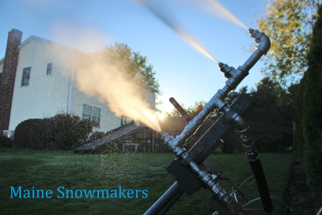 Maine snowmakers again